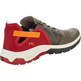 Salomon Techamphibian 4 Kengät Miehet, beluga/russet orange/red dahlia